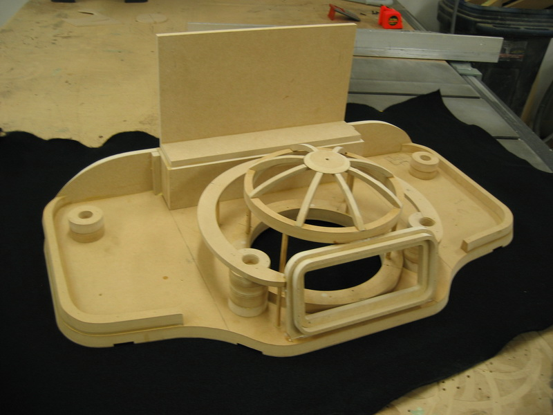 Merecedes S55 Sub Box frame structure