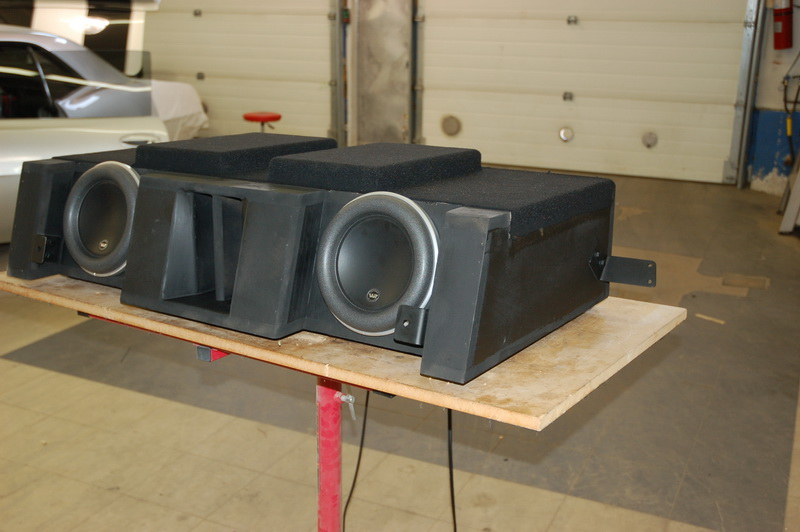 The Custom Vented Subwoofer Cabinet fo the Car